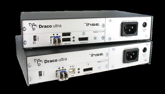 IHSE Draco Ultra KVM extender reaches unprecedented 30 bit colour depth of