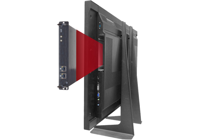 Draco OPS extender module simplifies connection of compatible monitors to Draco Tera KVM switches