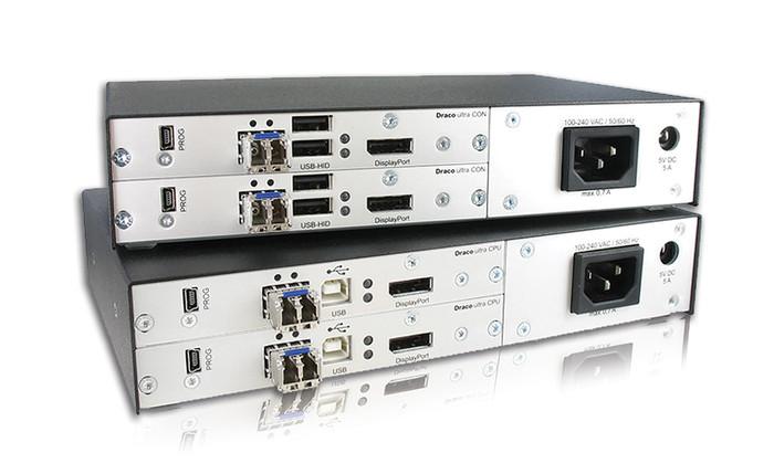 IHSE's Dual-Head 4K DisplayPort extender increases viewing area